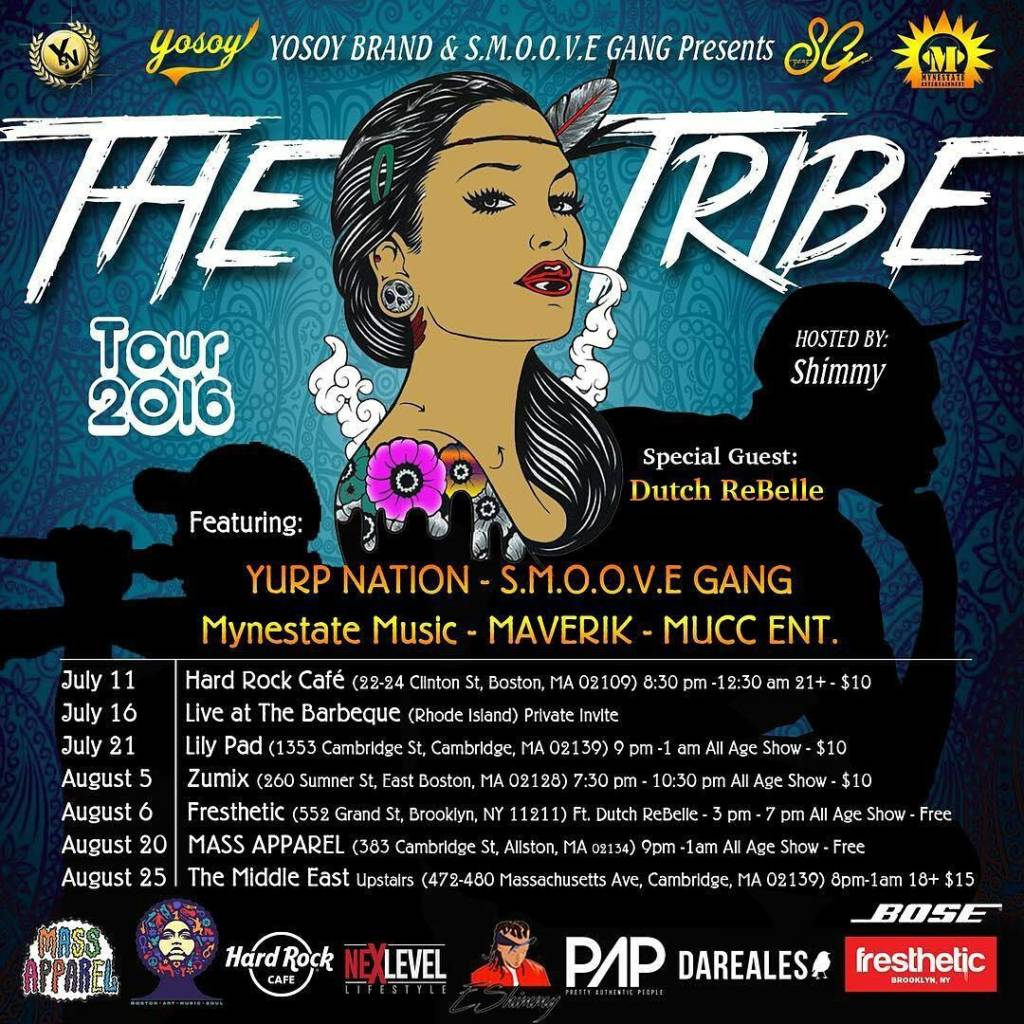 THE TRIBE TOUR 2016